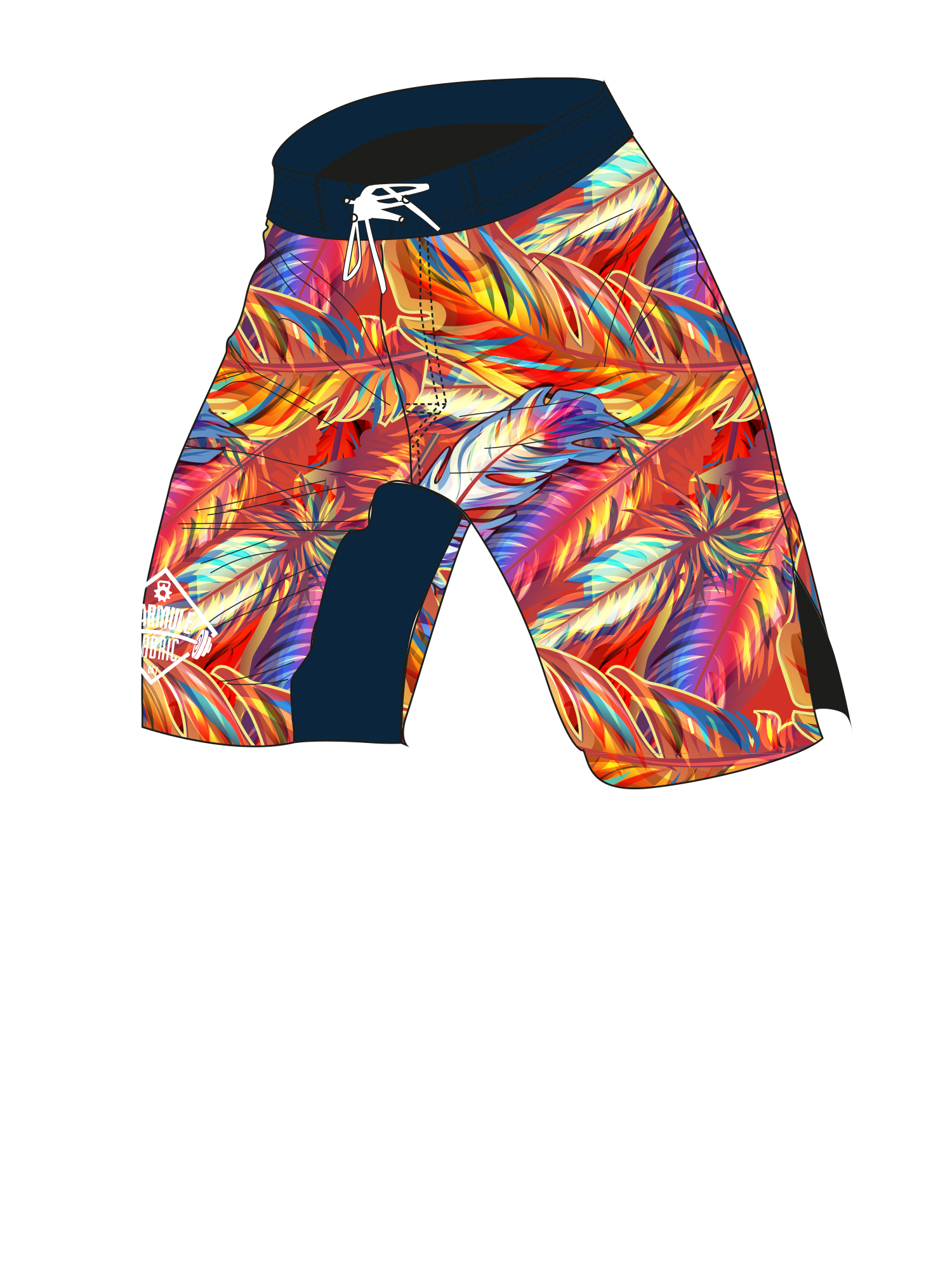 Boarshort-macaw